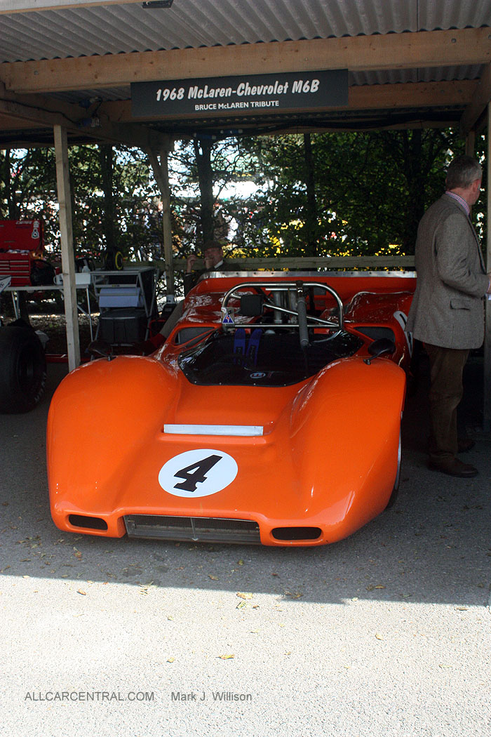 1969 McLaren Chevrolet M6B Goodwood Revival 2015