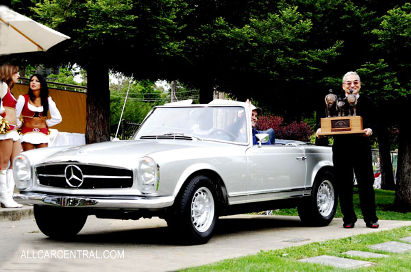 Mercedes-Benz 280SL 1969 Peoples Choice Award