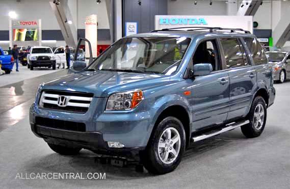 Honda Pilot Towing Capacity >> 2008 Honda photographs and technical data - All Car Central Magazine