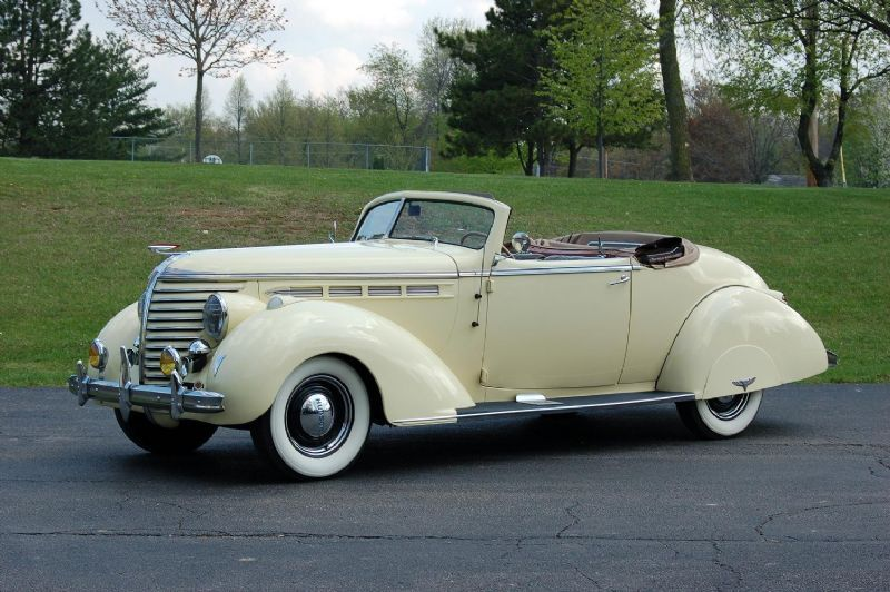 1938 hudson eight convertible coupe car pictures