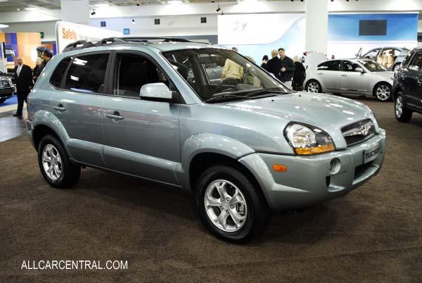 Hyundai Tucson 2008. Hyundai Tucson 2008