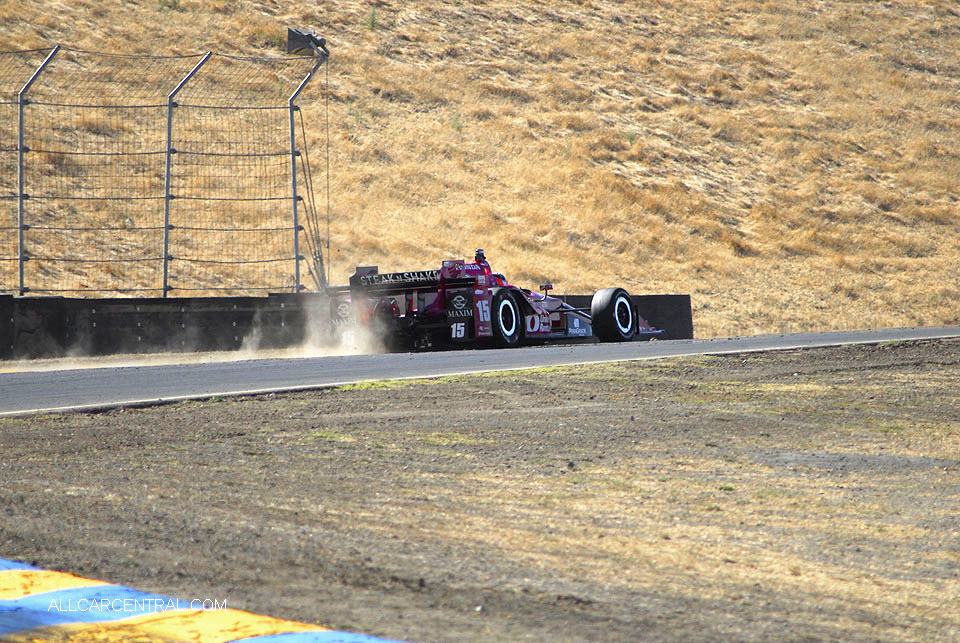 Graham Rahal IndyCar GoPro Grand Prix of Sonoma 2016