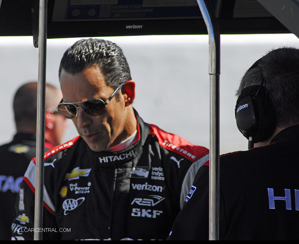 Helio Castroneves IndyCar GoPro Grand Prix of Sonoma 2016
