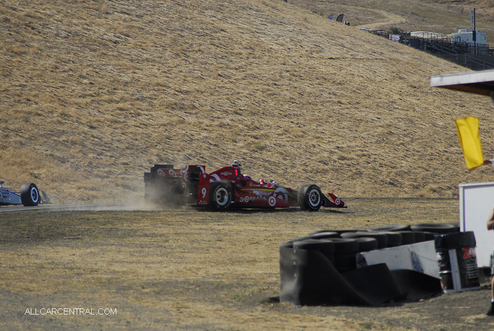 Scott Dixon IndyCar GoPro Grand Prix of Sonoma 2016