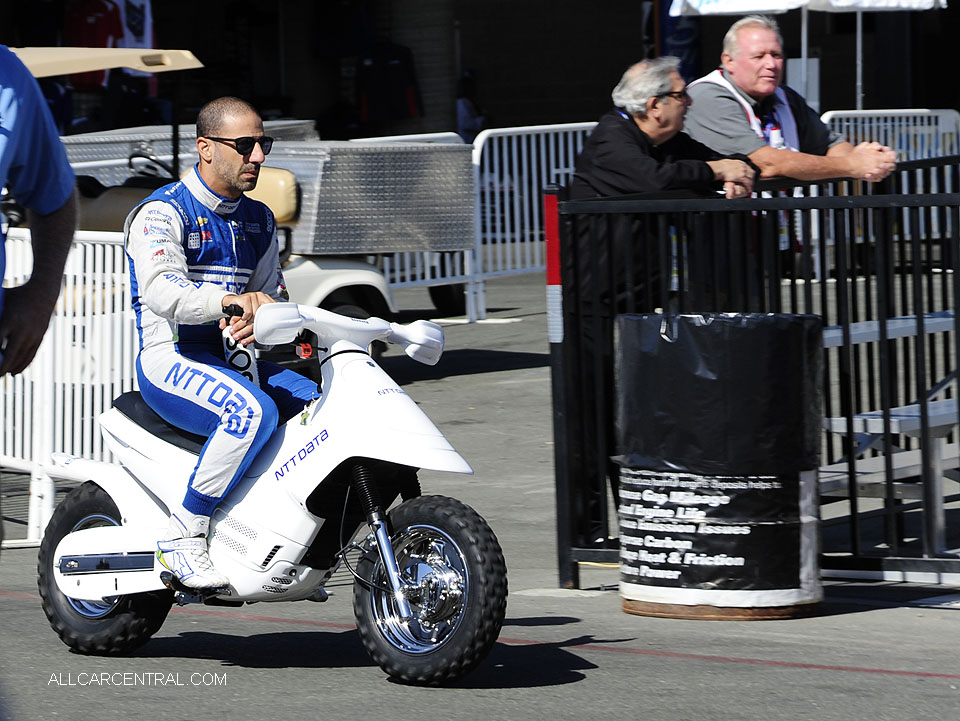 Tony Kanaan IndyCar GoPro Grand Prix of Sonoma 2016