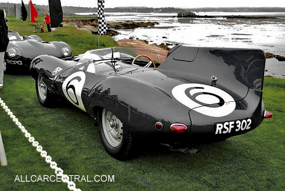 Jaguar D-type sn-504 1955