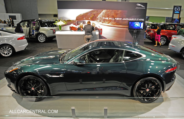 Jaguar f type coupe green - photo#17