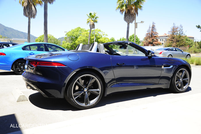 2014 Jaguar F Type Test Drive