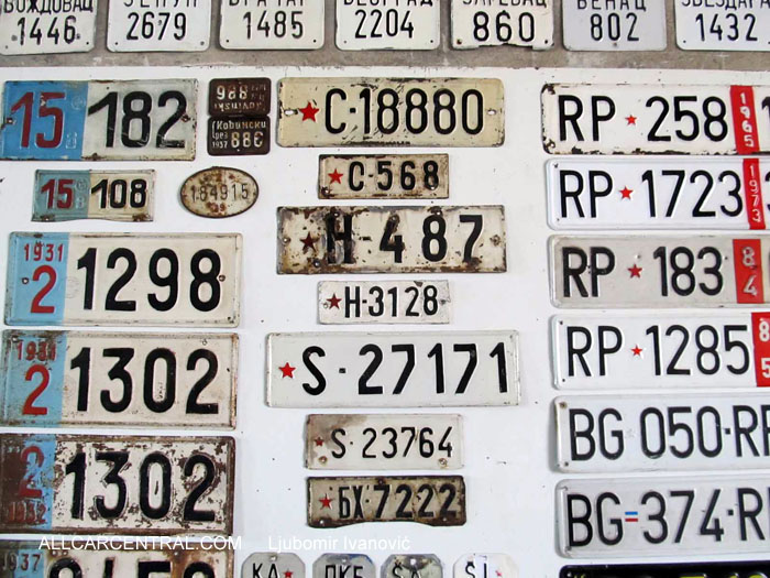 License Plate Collectors 2014