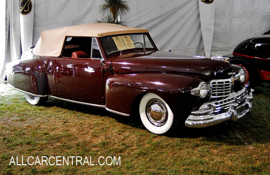 Lincoln Continental V12 sn-8H171397 1948