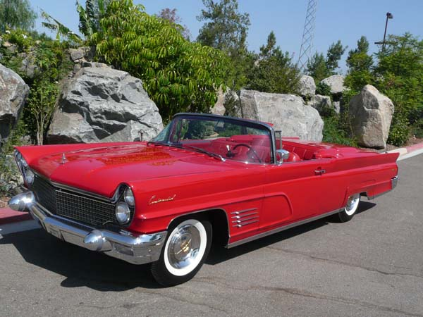 Lincoln Continental Convertible 1960