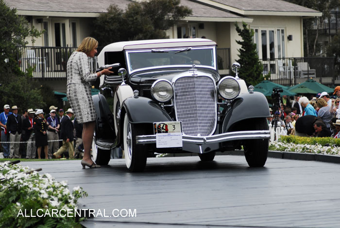 Lincoln KB Brunn Convertible Victoria 1933