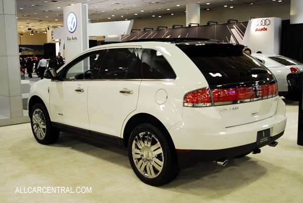 Lincoln MKX 2009. San Francisco International Auto Show