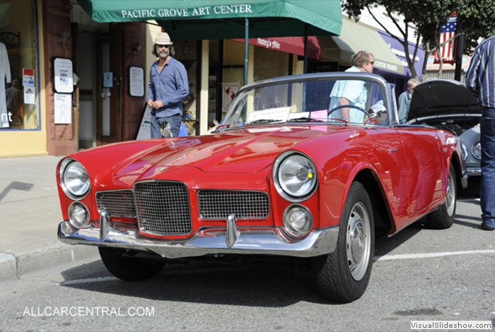Little Car Show Pacific Grove