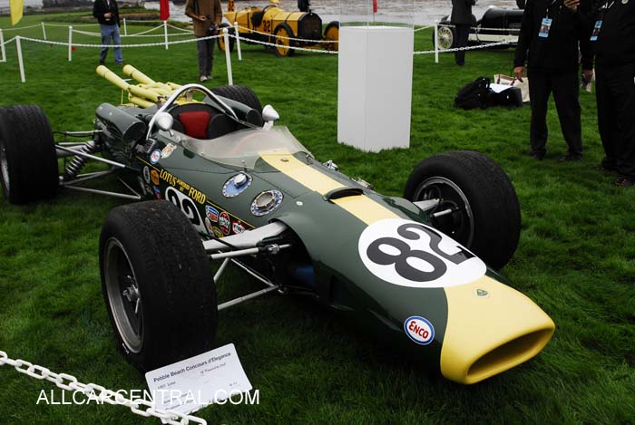 Lotus-Ford 38 sn-1 1965 Pebble Beach Concours d'Elegance® 2010