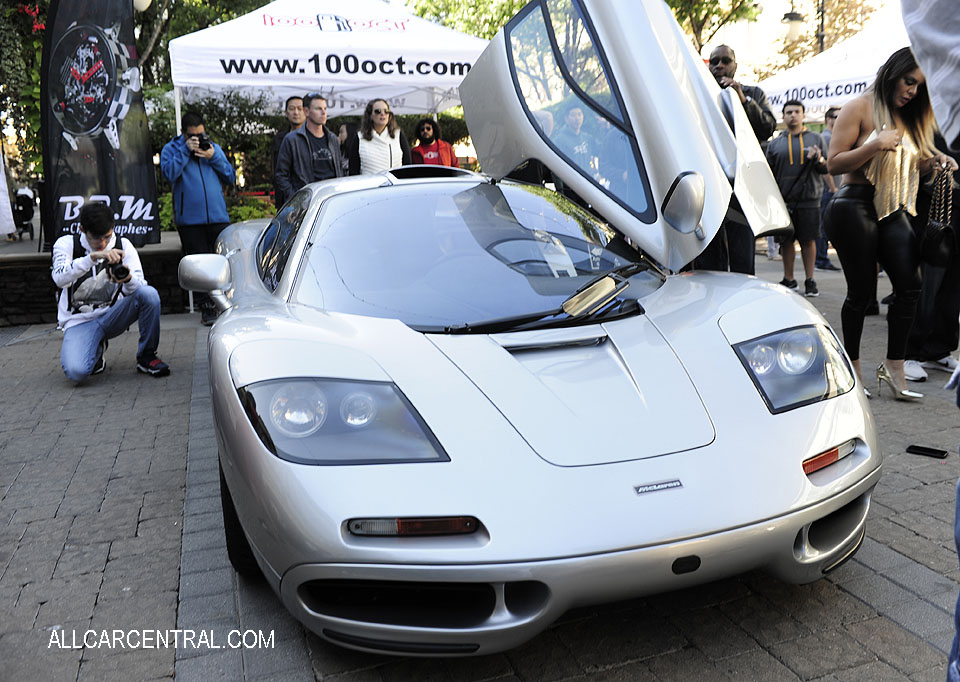 McLaren F1 sn-1A9MC99L9SA398062 1995 100-OCT Santana Row San Jose CA 10-22-17