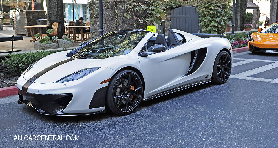 McLaren Mp4-12c sn-SBM11BAA1DW002256 2013 100-OCT Santana Row San Jose CA 10-22-17