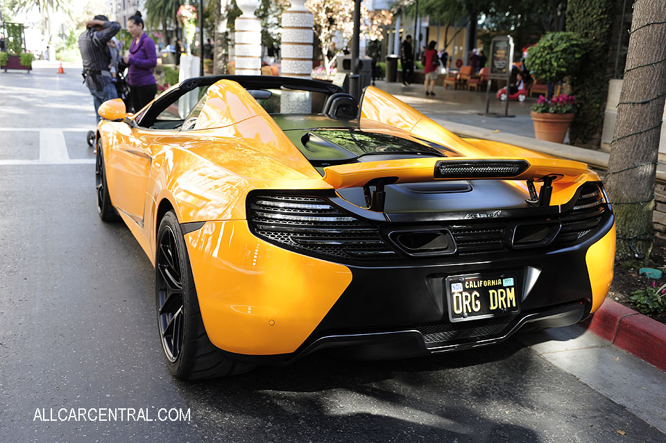 McLaren Mp4-12c sn-SBM11BAA8DW001993 2013 100-OCT Santana Row San Jose CA 10-22-17