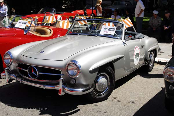 Mercedes-Benz 190SL 1956. California Mille San Francisco, California, 2008