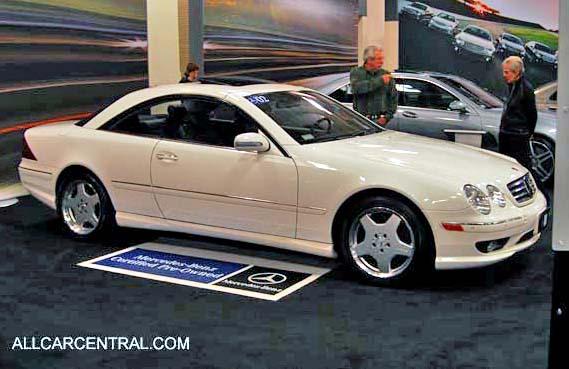 Mercedes Benz Cl500 Interior Mercedes-benz Cl500 Carswall