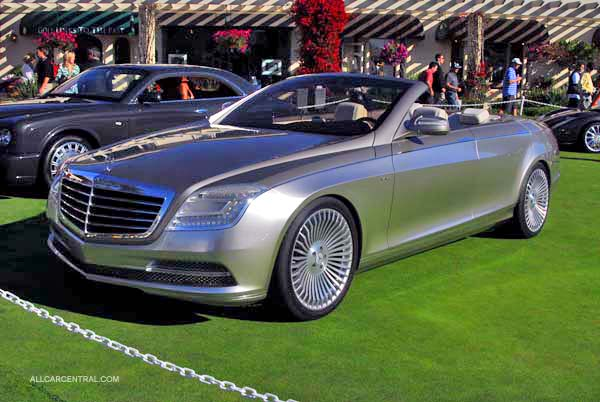 Mercedes-Benz Concept Ocean Drive 2008. Pebble Beach