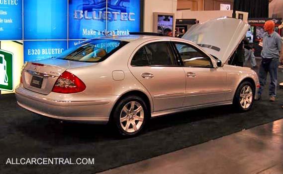 Mercedes Benz 320. Mercedes-Benz E320 Bluetec