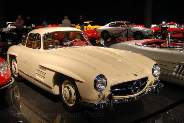Mercedes-Benz 300SL Gullwing Coupe 1957. Blackhawk Museum 2007