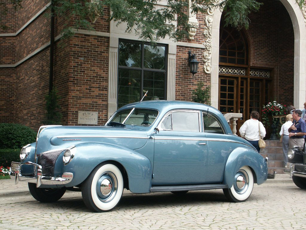 Mercury Sedan Coupe 1940
