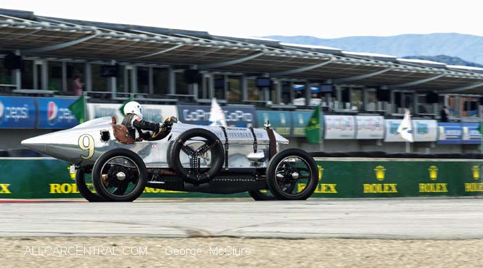 Hall-Scott Four-A-7A 1917 Dick Deluna Rolex Monterey Motorsports Reunion 2015