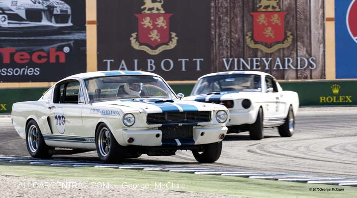 Shelby GT 350 Mustang Rolex Monterey Motorsports Reunion 2015
