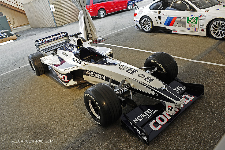 BMW Williams sn-FW22-02 2000 F1  Monterey Motorsports Reunion 2016