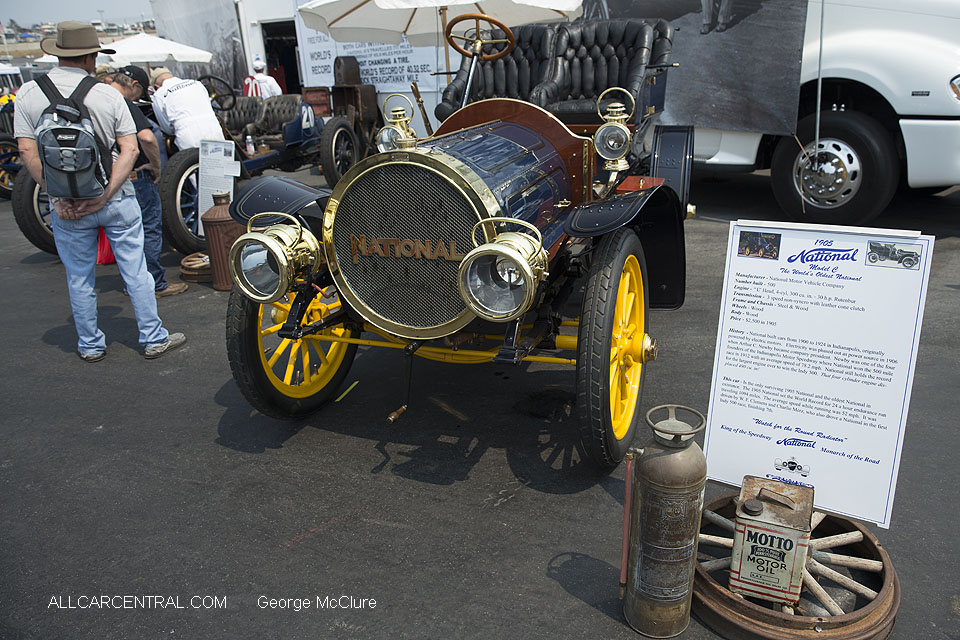 National Model C 1905 Monterey Motorsports Reunion 2016