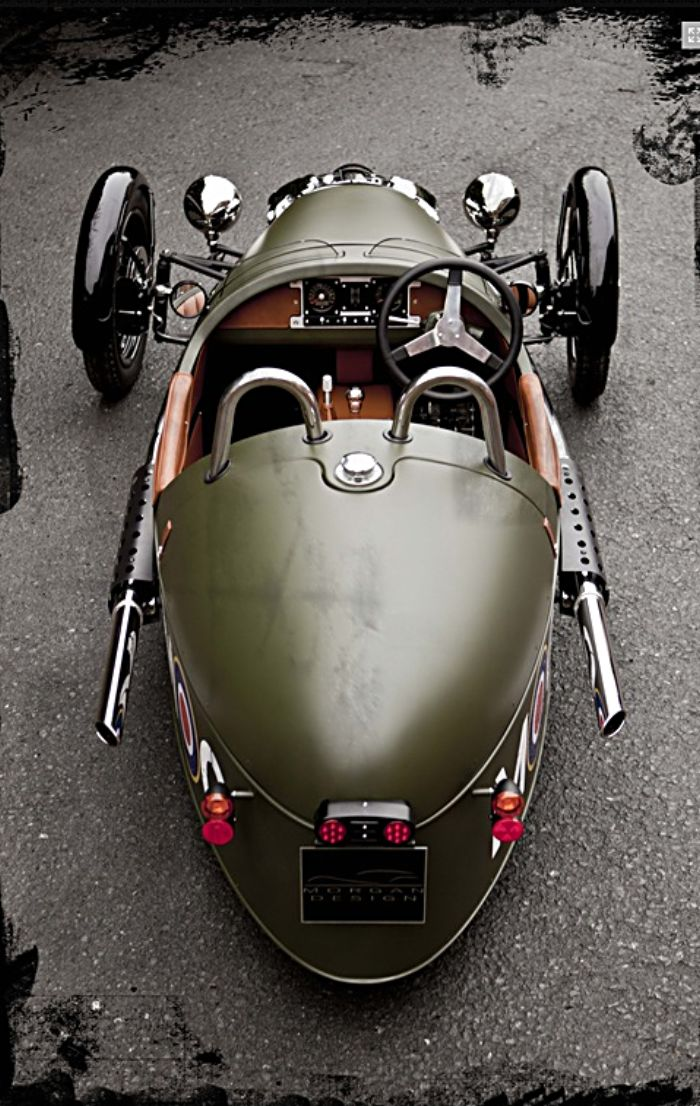 Morgan 3 Wheeler 2011