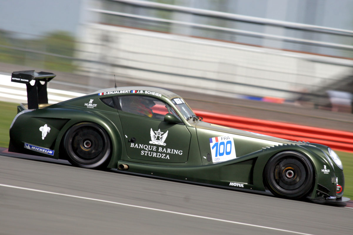 Morgan Aero SuperSports Race