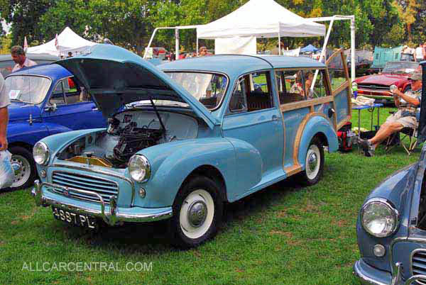 Morris Minor Traverler 1960