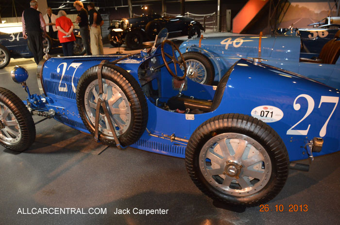 Bugatti Type 35C Grand Prix 1925 Mullin Automotive Museum 2013