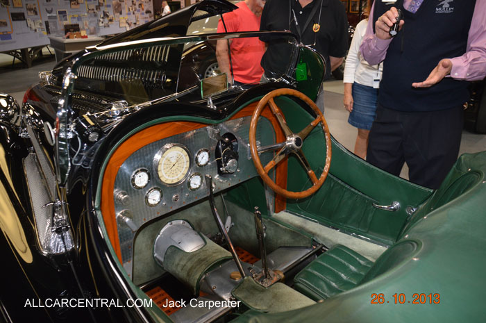 Bugatti Type 54 Roadster 1931  Mullin Automotive Museum 2013