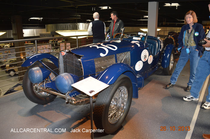 Bugatti Type 57SC Competition Roadster 1936 Mullin Automotive Museum 2013