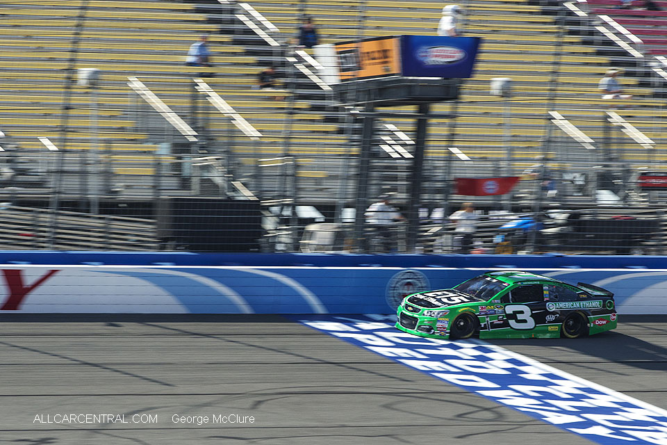 Car 3 Austin Dillon  NASCAR California Auto Club 400 Fontana, California