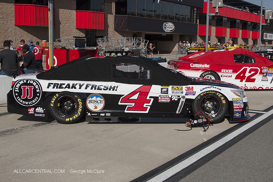 Car 4 Kevin Harvick  NASCAR California Auto Club 400 Fontana, California