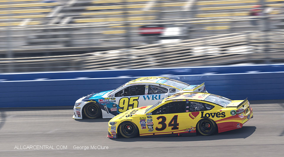 Car 95 Michael McDowell  NASCAR California Auto Club 400 Fontana, California