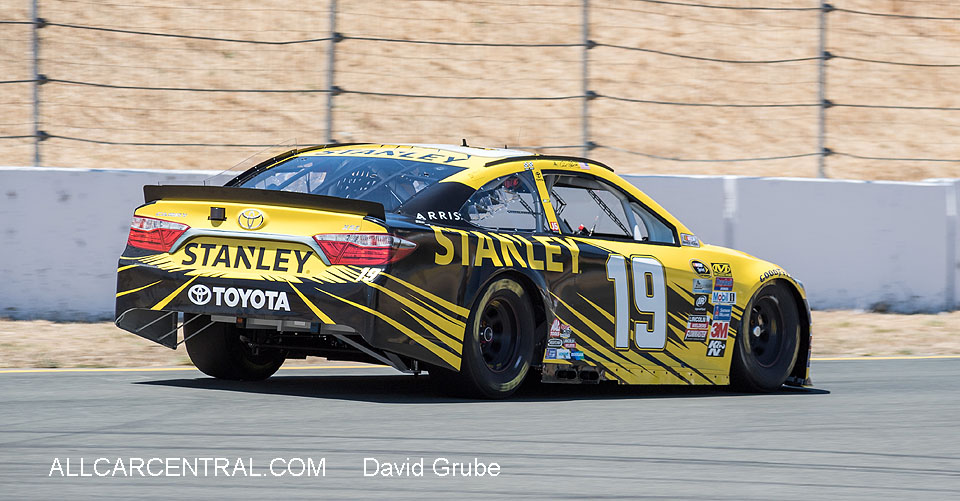 Carl Edwards NASCAR Sonoma Raceway Toyota-Save Mart 350 2016  Friday Practice