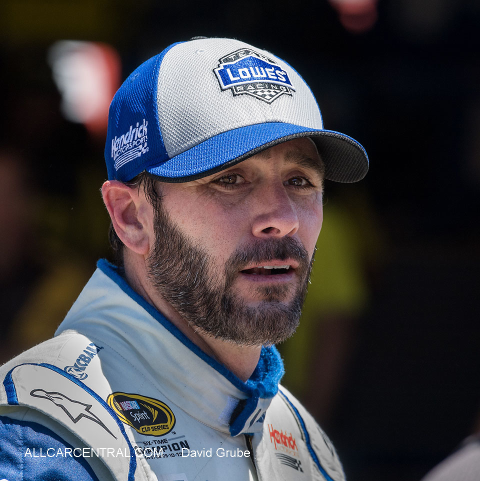 Jimmie Johnson NASCAR Sonoma Raceway Toyota-Save Mart 350 2016  Friday Practice