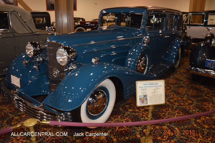 Cadillac Model 452-C Imperial Limousine 1933 Nethercutt Museum 2013