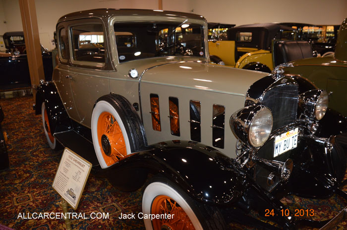 Chevrolet Confederate Series Model BA Deluxe Coupe 1932 Nethercutt Museum 2013