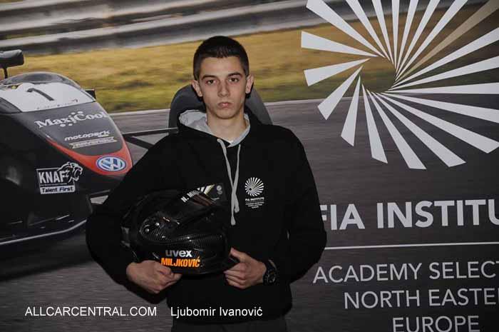 Nikola miljkovic at fia academy 2014 all car central magazine