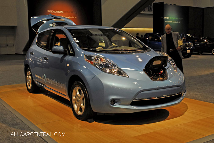 Nissan Leaf  San Francisco International Auto Show