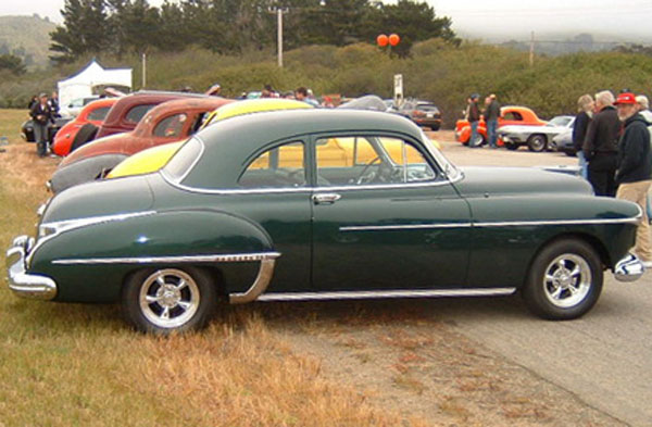 Oldsmobile Club Coupe 1950