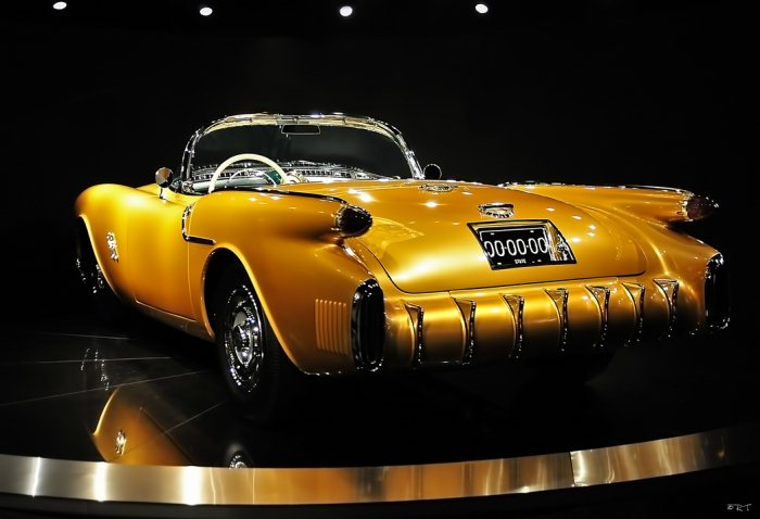 Oldsmobile F-88 Convertible Concept Car 1954