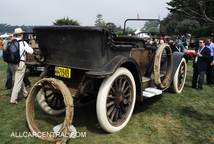 Oldsmobile Limited Touring 1911 2nd Place